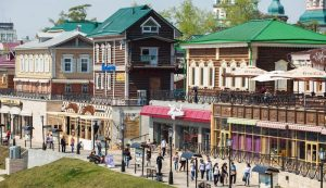Moscow - Beijing Train Tour. Irkutskaya Sloboda