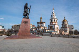 Moscow - Beijing Train Tour. Kazan Kremlin