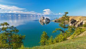 Moscow - Beijing Train Tour. Lake Baikal