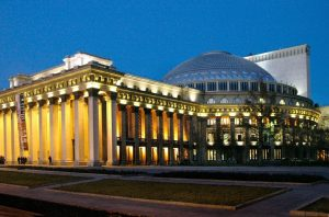 Moscow - Beijing Train Tour. Novosibirsk Opera and Ballet Theatre