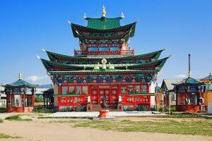 Moscow - Beijing Train Tour. Ulan Ude City, Buryatia