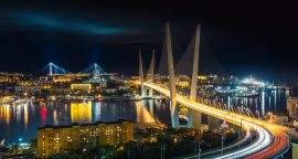 night Vladivostok