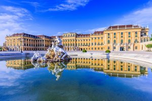 Royal Tour – Prague, Budapest, Vienna. Schonbrunn Palace, Vienna, Austria