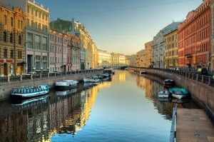 Minsk, Helsinki and St.Petersburg at a Glance