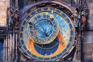Royal Tour – Prague, Budapest, Vienna. Astronomical clock in Prague