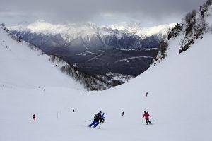Olympic Ski Resort Tour in Russia. Rosa Khutor Winter Season Tour. Rosa Khutor Alpine Resort