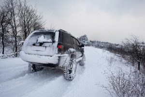Olympic Ski Resort Tour in Russia. Rosa Khutor Winter Season Tour. 4x4 Wheel Expedition