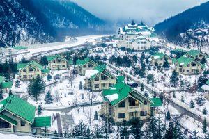 Olympic Ski Resort in Sochi Tour 1. Krasnaya Polyana, Sochi Region