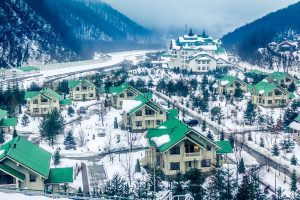 Olympic Ski Resort Tour in Russia. Rosa Khutor Winter Season Tour. Krasnaya Polyana, Sochi Region