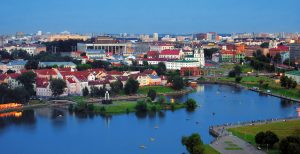 Belarusian Adventure Tour. Minsk, Belarusian Capital City