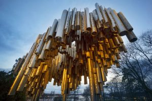 Monument to Jean Sibelius in Helsinki