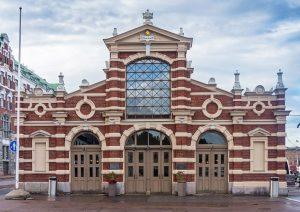 Old Market Hall in Helsinki