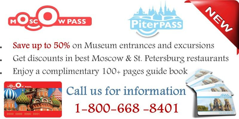 moscow and st.petersburg passes for travelers