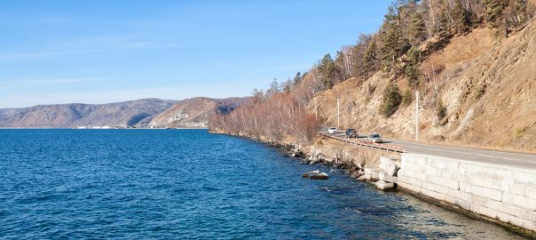 Lake Baikal. Listvyanka.
