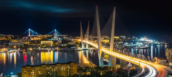 night Vladivostok